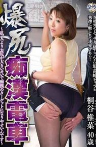 IRO-28 Big Butt Molesting Train I It Is Easier To Become A Target Of Pervert Because Of Big Ass Than People Kiritaniya Bean