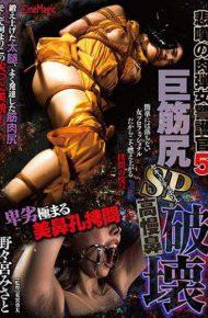 CMN-182 CMN-182 Grief's Flesh Woman Guard 5 Big Brachial SP Suffered Nasal Rupture Misato Nomiya
