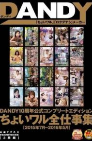 DANDY-502 Dandy10 Anniversary Official Complete Edition Choi Wal Total Work Collection &ltjuly To May 2016 2015&gt