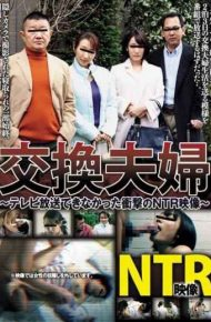 AVSA-082 Exchange Couple NTR Picture Of Shock That Could Not Be Broadcast On TV Pears Flower
