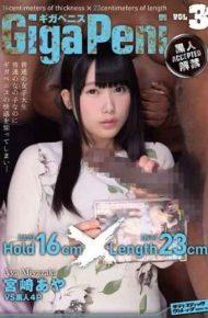 SVDVD-518 Gigapenisu Vol.3 Black Ban Miyazaki Aya Hold Thickness 16cm Length Length 23cm