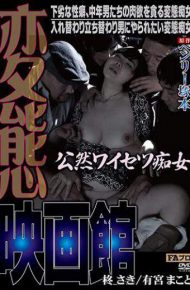 HQIS-046 HQIS-046 Henry Tsukamoto's Original Transfiguration Movie Theater Openly Married Slut