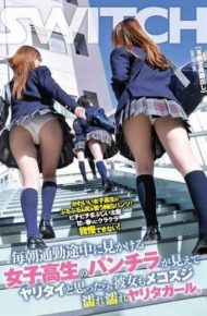 SW-174 I Thought Of School Girls Underwear Yaritai See The Way To Work Every Morning Is Look I Yaritagaru Wet Wet She Mekosuji.