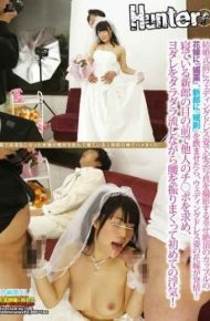 """HUNT-856 If You Give Him The """"nemuri-zai"""" """"aphrodisiac"""" The Groom To The Bride A Couple Of Happy Climax To Shoot Commemorative Photo In Wedding Dresses Before The Wedding Bride Wedding Dresses Is Estrus!affair For The First Time To Determine The Switch Port Of Others In Front Of The Groom Sleeping And I Sprinkle The Waist While Flowing Doodling Slaver!"""