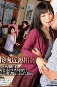 HAVD-914 Kiss Incest One Under The Roof Young Wife Who Flare Up To Climax Between The Guilt And Pleasure