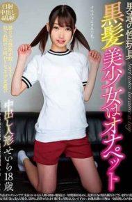 INCT-028 Male Sex Toy Black Hair Beautiful Girl Hernie Pet 18 Year Old Star Saki Saila