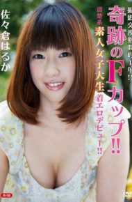 REBO-026 Rebo-0026 Photographic Negotiation Period About 1 Year! !miracle F Cup! !debut Erotic Amateur Amateur Girls College Student! !r-18 Haruka Sasakura