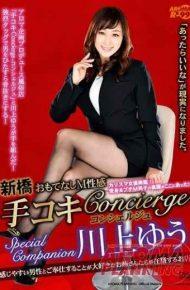 ARMQ-017 Shimbashi – Hospitality M Sexy Hand Job Concierge – Concierge Special Companion Yu Kawakami