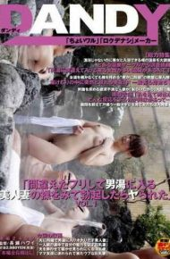"""DANDY-279 Vol.1 """"after The Erection Was Ya Look At The Naked Beauty Of His Wife To Pretend To Have A Bath Man Made A Mistake"""""""