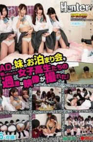 HUNT-986 When You Spy The A Sleepover Of Ad Sister Was Take A Radical Image Of School Girls Who!