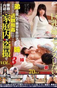 DVDES-832 You Want To Sister And Sex Of Busty … Sister That Has Been Confessed Desire Distorted Brother Accept The Incest At The End Of The Conflict! !Family To The Voyeur In The Home Of Secret AV The Affection Production Company Full Backup! !VOL.3